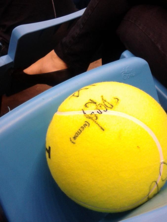 Morri de inveja da pessoa que estava na minha frente e que tinha autógrafo do Daniel Nestor. #NestorForever