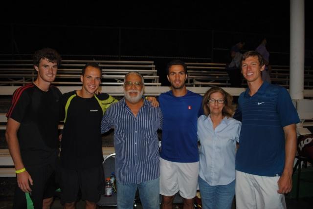 Jamie Murray, Bruno Soares, Jean-Julien Rojer e Eric Butorac.