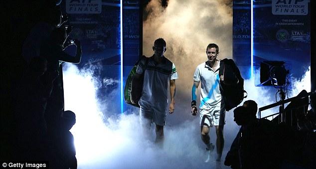 Novos horizontes: com Nielsen, Marray disputou o ATP World Finals no O2.