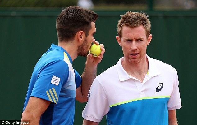 Ambicioso: jogará com Colin Fleming em Wimbledon, na tentativa de defender seu título.