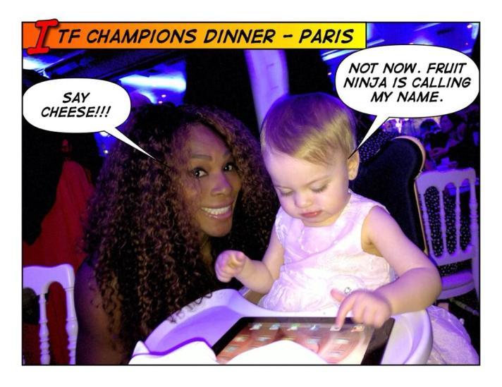 Muito ocupada pra você, Serena.