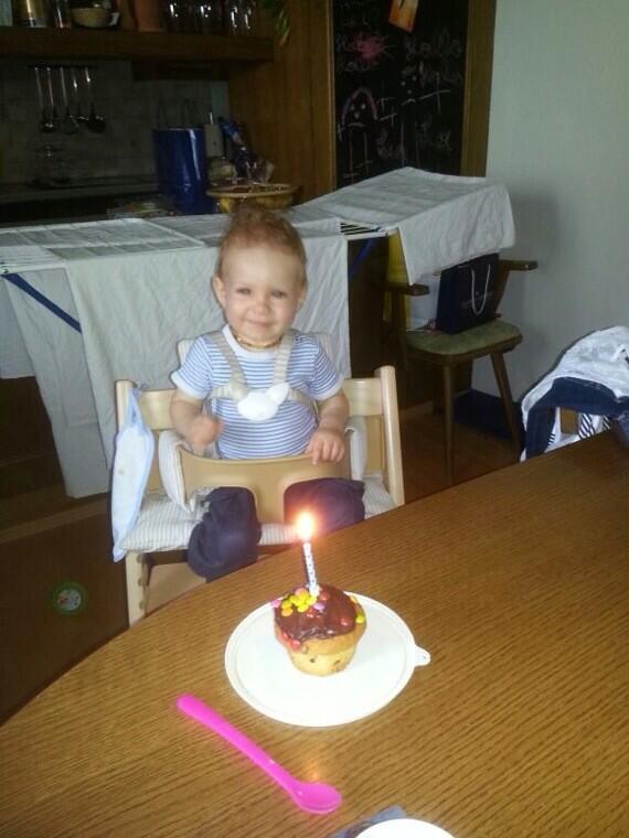 Aniversário de 1 ano. :)