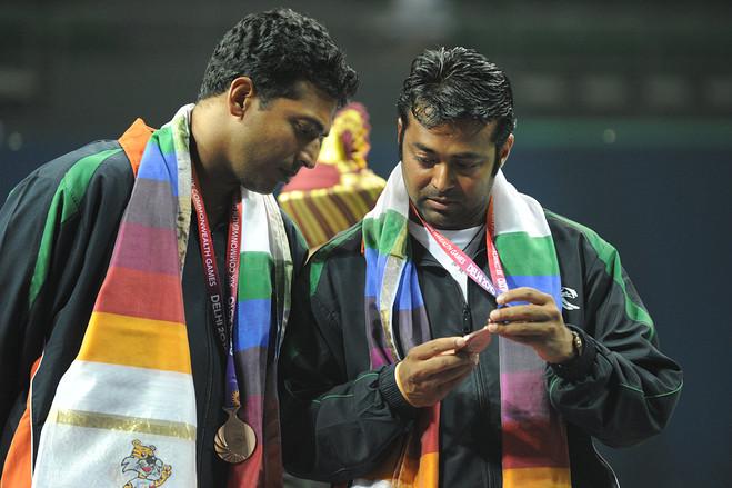 Mahesh Bhupathi e Leander Paes.