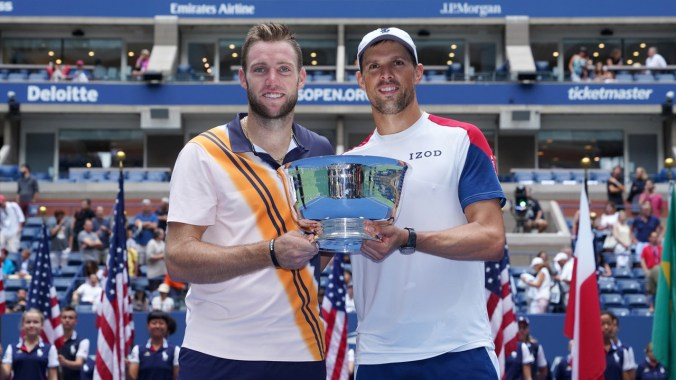 20180907 Lukasz Kubot and Marcelo Melo v Mike Bryan and Jack Sock - Day 12